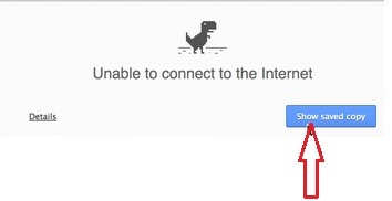 Google Chrome Offline Mode