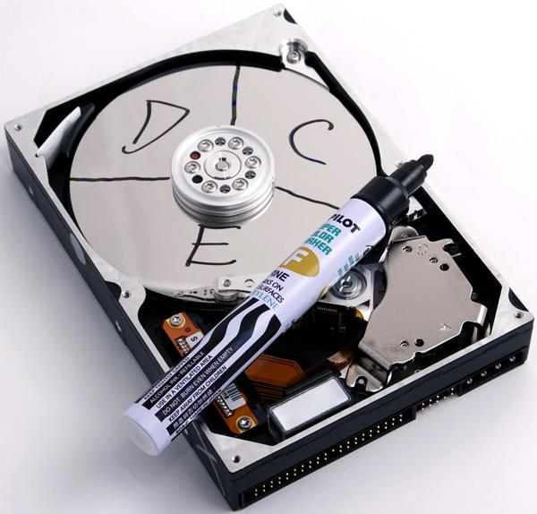 Partition Hard Drive : How to partition a hard drive importance of disk