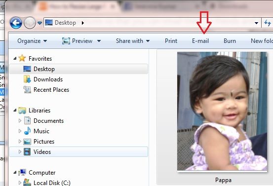 resize images in windows