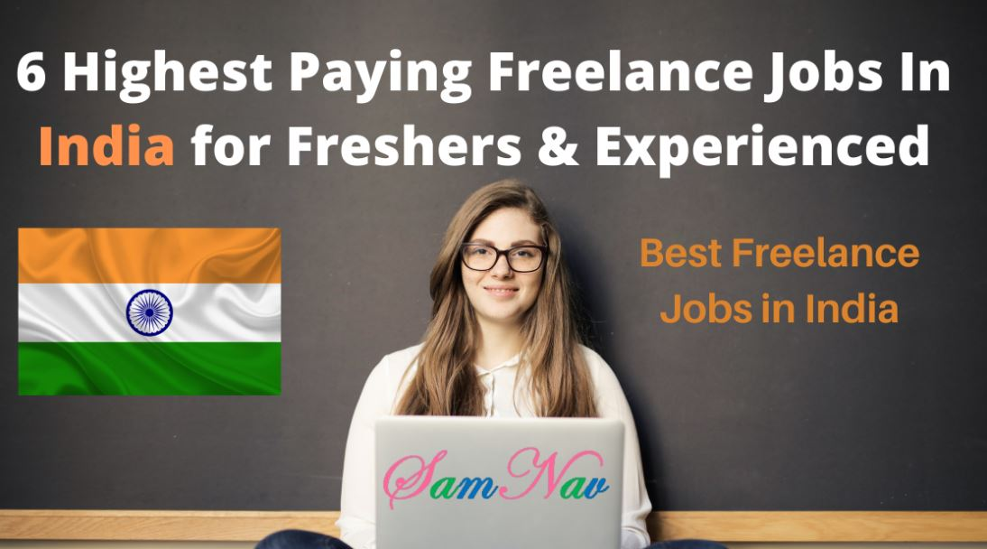 Top Freelance Jobs In India