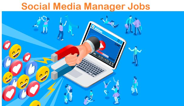 social media manager work at home jobs