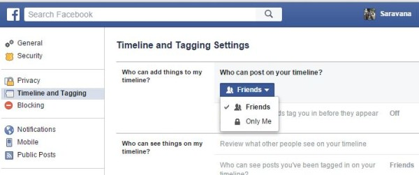 How to Stop Others Posting on Your Facebook Timeline