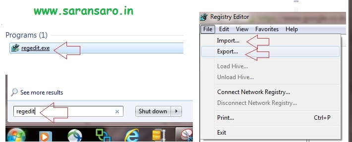 How to take Backup and Restore windows Registry