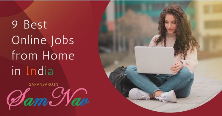online jobs from home India