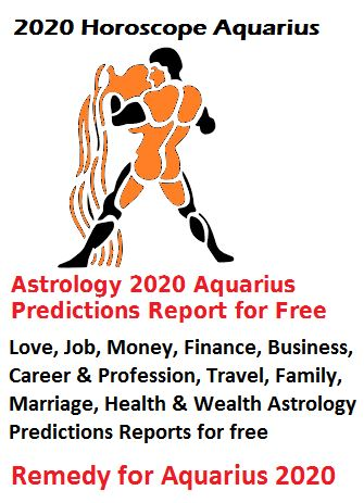 2020 Horoscope Aquarius