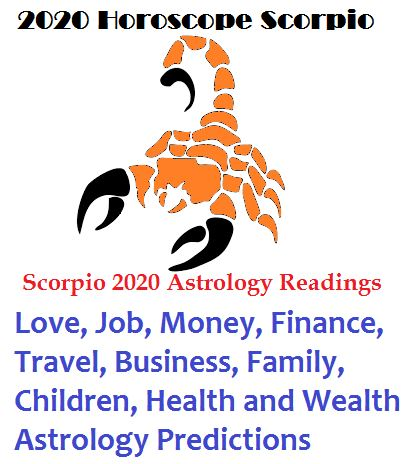 2020 Horoscope Scorpio Personalized Predictions Readings