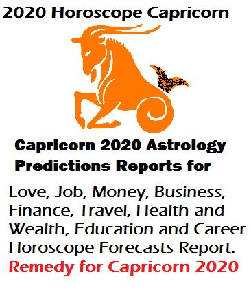 2020 horoscope Capricorn zodiac sign