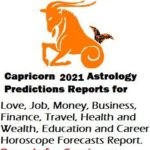 2021 Horoscope Capricorn