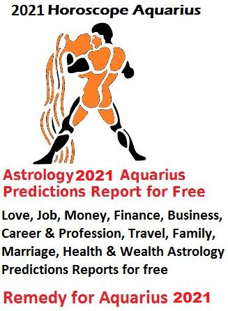 2021 Horoscope Aquarius
