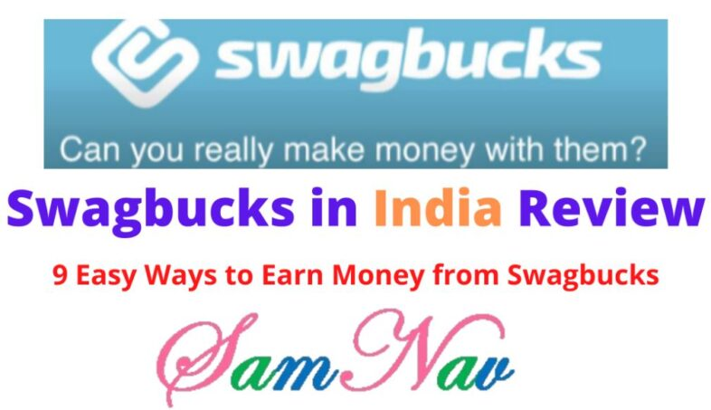 Swagbucks in India