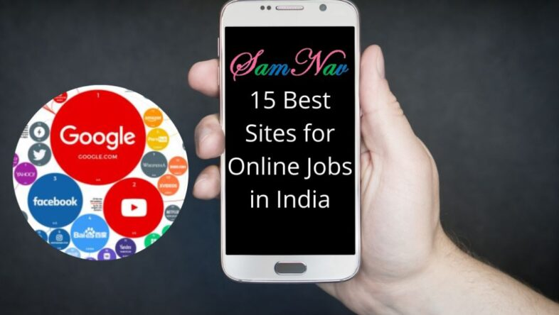 best sites for online jobs in India