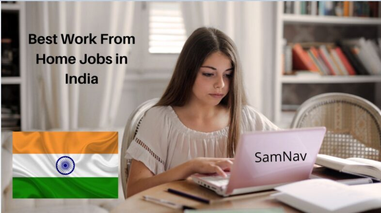 best work from home jobs in India